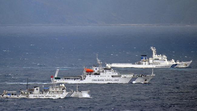 Çin Sahil Güvenlik gemileri Japon kara sularına girdi