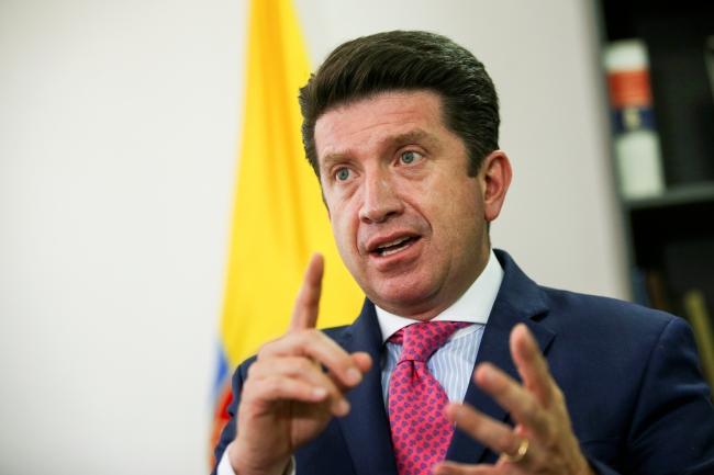 Fotoğraf: Reuters | Kolombiya Savunma Bakanı Diego Molano