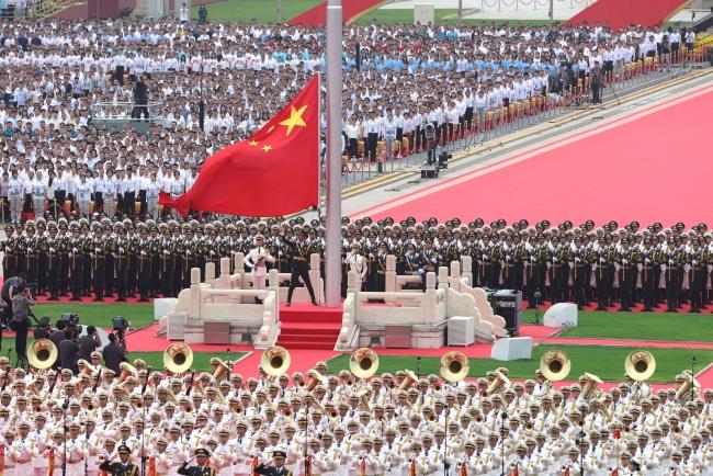 Çin Komünist Partisi'nin 100. yıl dönümü için tören düzenlendi
