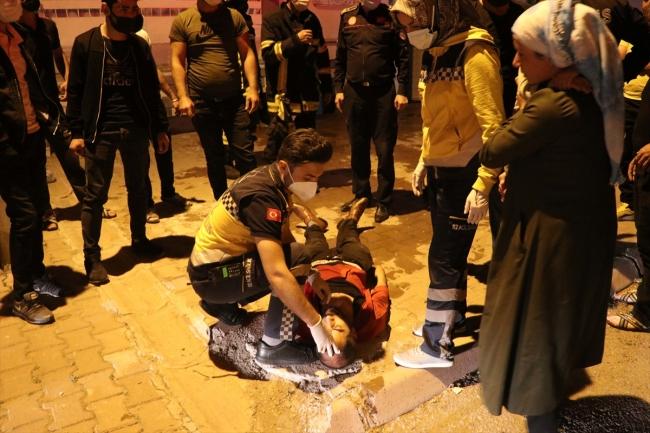 Kayseri'de apartman yangını: 1 kişi hastaneye kaldırıldı