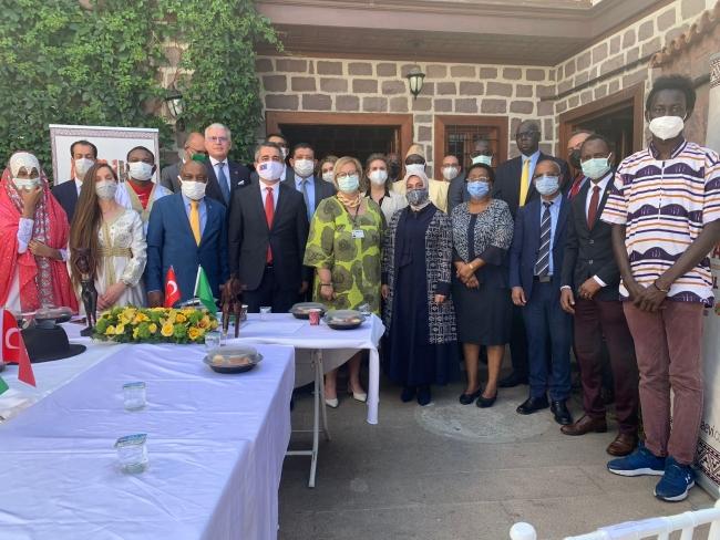 Emine Erdoğan'dan Afrika Günü kutlama programına mesaj