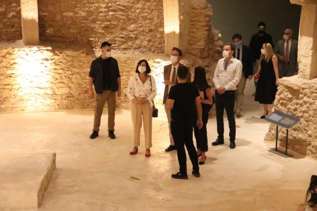 AB Türkiye Delegasyonu Başkanı Göbeklitepe'yi ziyaret etti