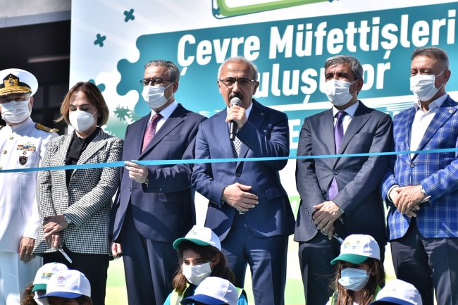 Bakan Elvan, Mersin Millet Bahçesi'nin açılışına katıldı