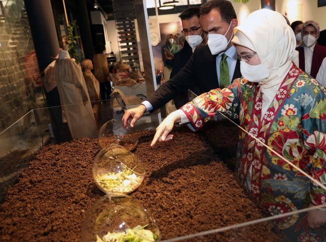 Emine Erdoğan, sıfır atık etkinliğine katıldı