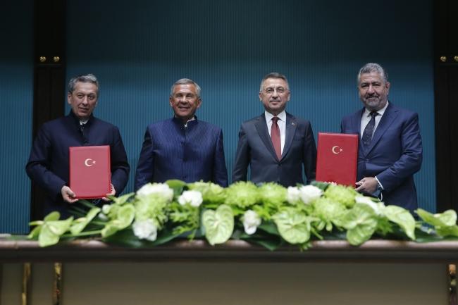 Fuat Oktay: Türkiye uluslararası yatırımcılar için güvenli bir limandır