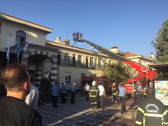 Gaziantep'te hastane yangını: 46 hasta tahliye edildi