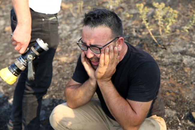 Aydın'da orman yangını: Yaklaşık 100 dönüm alan zarar gördü