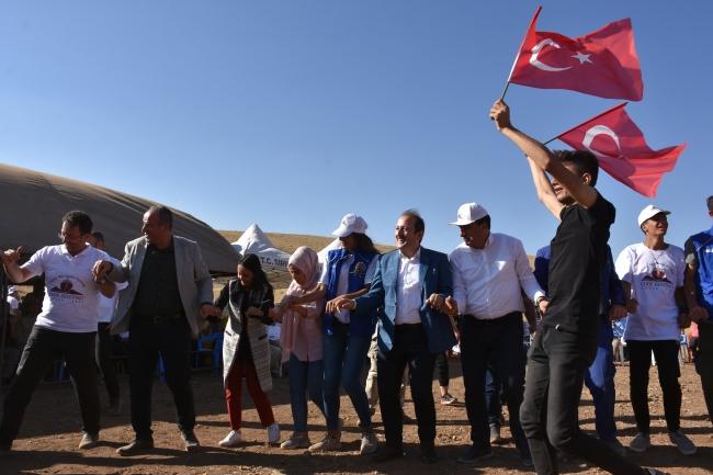 Cudi Dağı'nda 40 yıl sonra festival düzenlendi