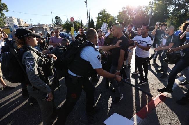 İsrail güçlerinden barışçıl gösteriye ses bombalı saldırı