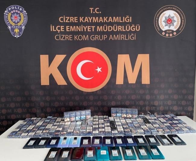 Şırnak'ta uyuşturucu ve kaçakçılık operasyonları: 16 gözaltı