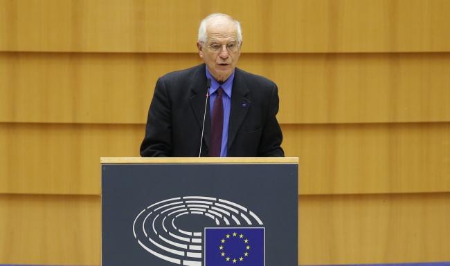 Avrupa Birliği Dış ilişkiler ve Güvenlik Politikaları Yüksek Temsilcisi Josep Borrell | AA