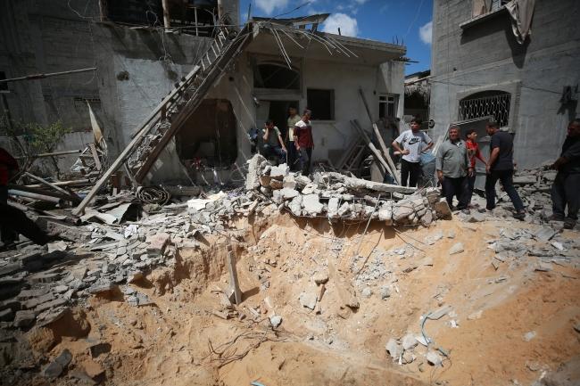 İsrail'in saldırılarında 212 Filistinli şehit oldu