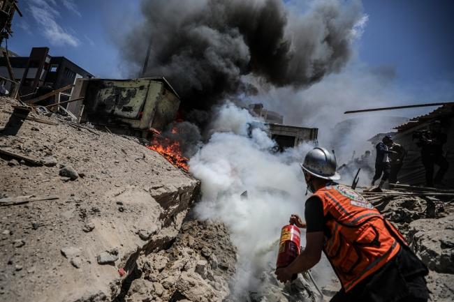İsrail'in Gazze bombardımanında 243 milyon dolar zarar
