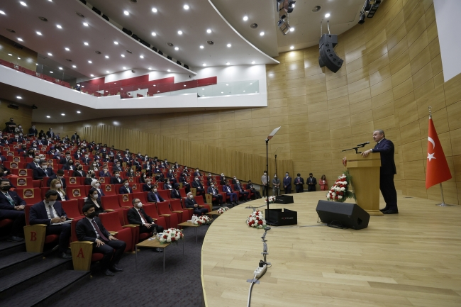 TBMM Başkanı Şentop gençleri kabul etti