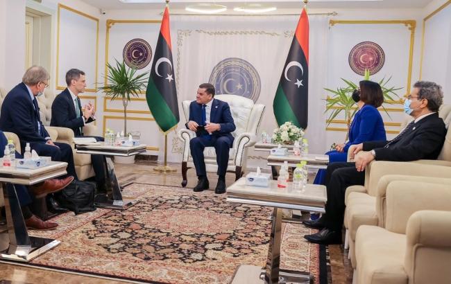 ABD'den Libya'ya 7 yıl sonra ilk ziyaret