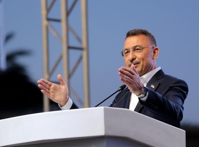 Cumhurbaşkanı Yardımcısı Oktay: Türk milletini kimse tehdit edemez