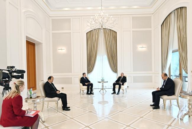 Aliyev: Türkiye'nin tecrübesi bizim için çok önemlidir