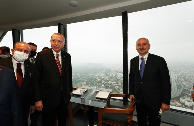 Bakan Karaismailoğlu: Avrupa'nın en büyük kulesini hizmete açıyoruz