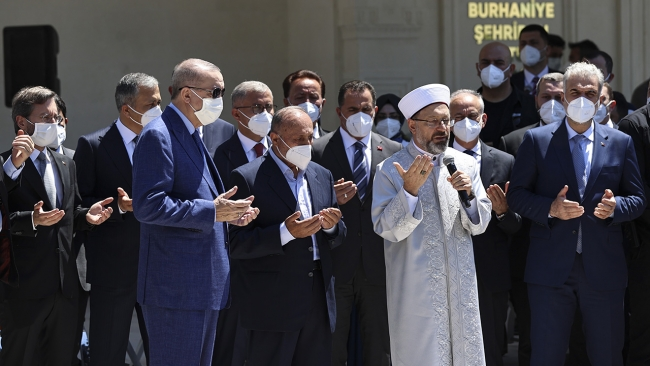 Shahriban Hatun Mosque opened for worship