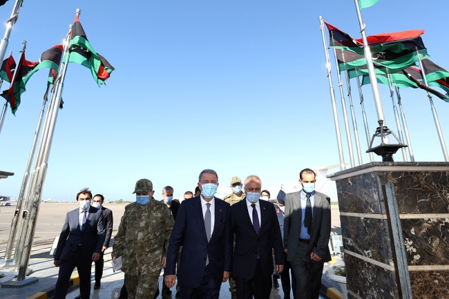 Bakan Akar: Libya'nın yanında olacağız