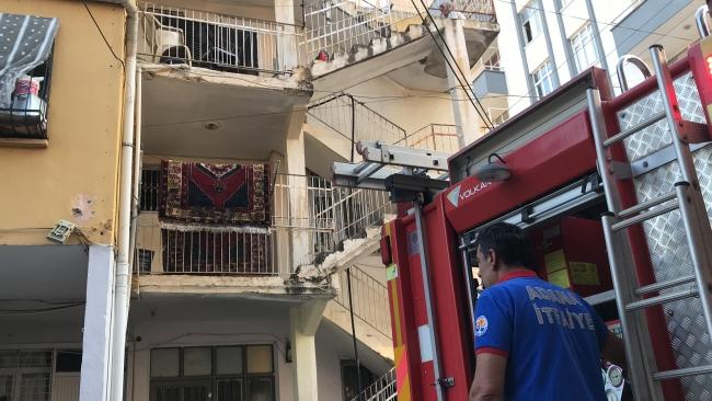 Adana'da yangın: Bir kişinin cansız bedeni bulundu