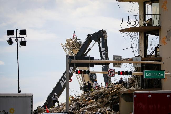 ABD'de çöken binada can kaybı 36'ya çıktı