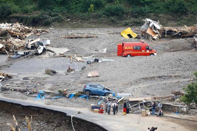 Felaketi yaşayan Almanya'da can kaybı arttı