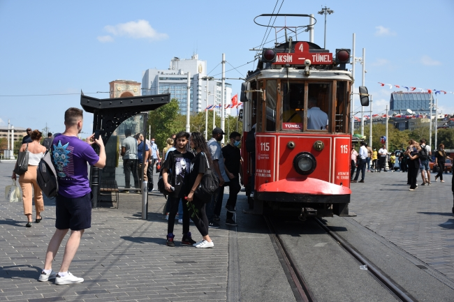 Mask rule was not followed in Istiklal Street