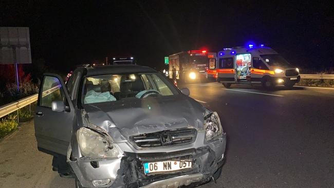 Anadolu Otoyolu'nda zincirleme kaza