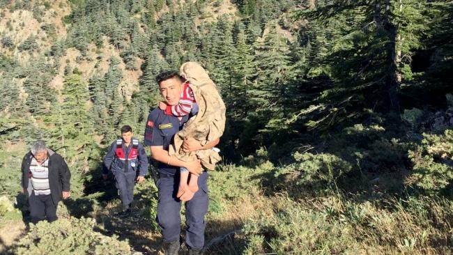 Ormanlık alanda oyun oynarken kaybolan çocuklar bulundu