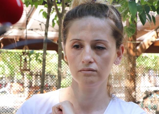 Kafede eşini darbeden zanlı tutuklandı