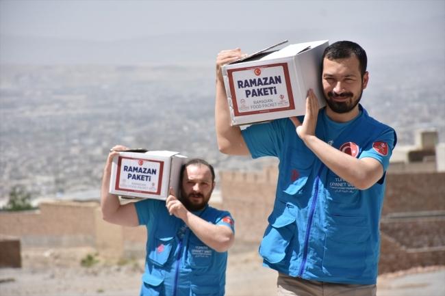 Diyanet Vakfı ramazanda 1,9 milyon ihtiyaç sahibine ulaştı
