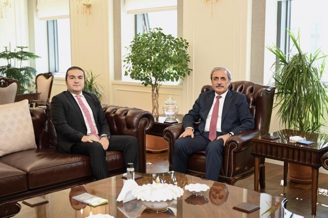 TRT Yönetim Kurulu Başkanı Albayrak'tan Yargıtay'a Ziyaret
