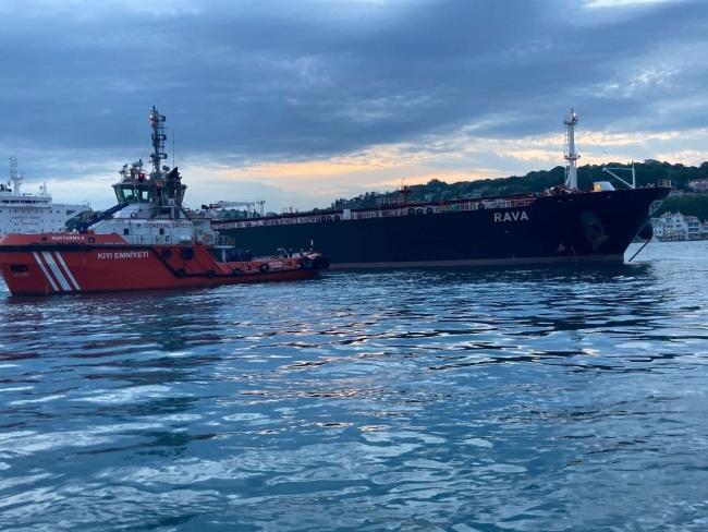 İstanbul Boğazı'nda trafik askıya alındı