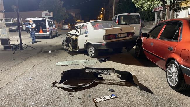 Polisten kaçan saldırgan polis otosuna çarptı
