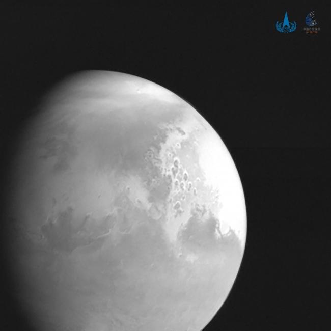 Çin'in keşif uydusu ilk Mars görüntüsünü yolladı