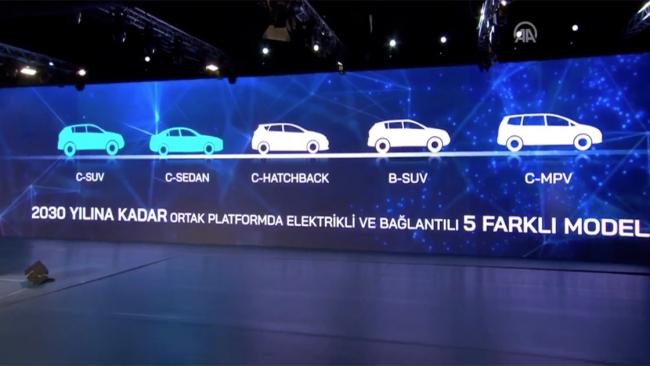 Elektrikli yerli Otomobilin Teknik Özellikleri