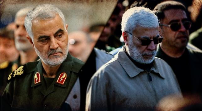 Kasım Süleymani ve Mehdi el-Mühendis. Fotoğraf: AA