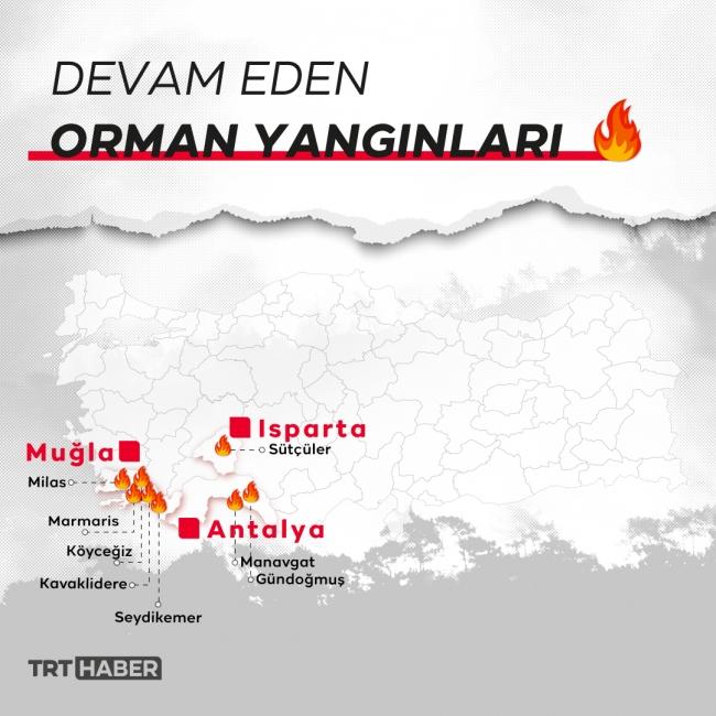 Harita: Bedra Nur Aygün / TRT Haber