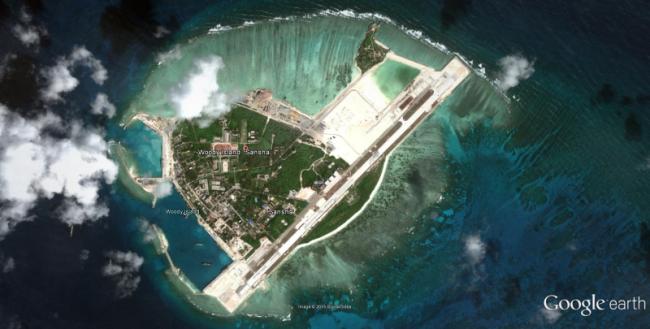 Woody Adası (Fotoğraf: Google Earth)