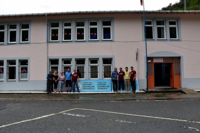 Trabzonda öğretmenler Okullarını Yeni Döneme Kendileri Hazırladılar