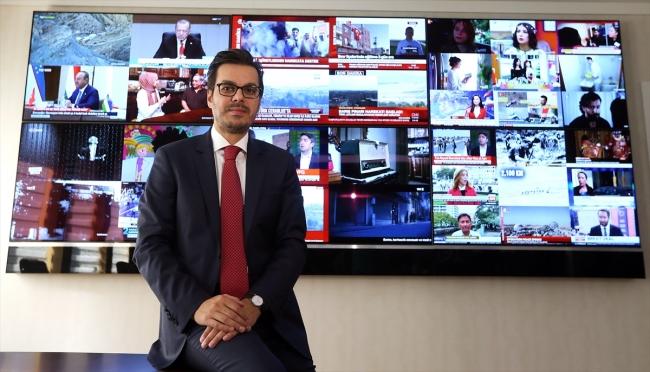 TRT Yönetim Kurulu Başkanı ve Genel Müdürü İbrahim Eren/ Fotoğraf: TRT Haber