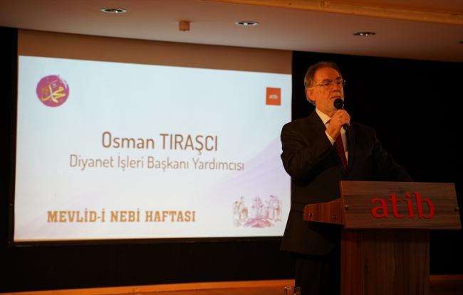 Diyanet İşleri Başkan Yardımcısı Osman Tıraşçı. Fotoğraf: AA