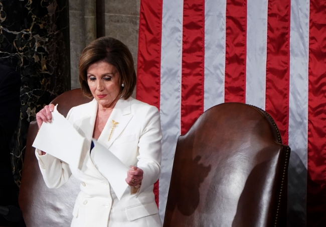 Temsilciler Meclisi Başkanı Nancy Pelosi / Fotoğraf: Reuters
