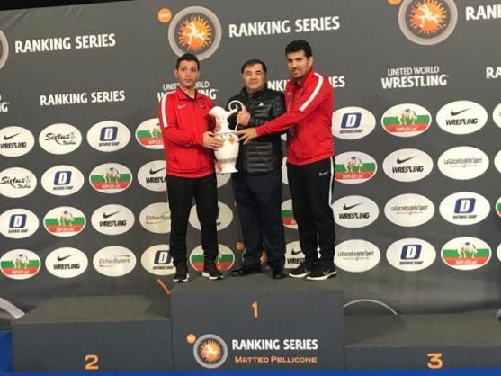 Fotoğraf: Türkiye Güreş Federasyonu