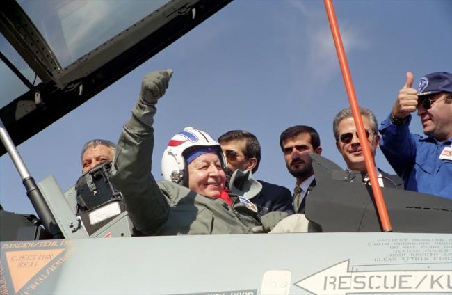 [Türk Havacılık ve Uzay Sanayi (TAI), 27 Eylül 1996 - Fotoğraf: AA]