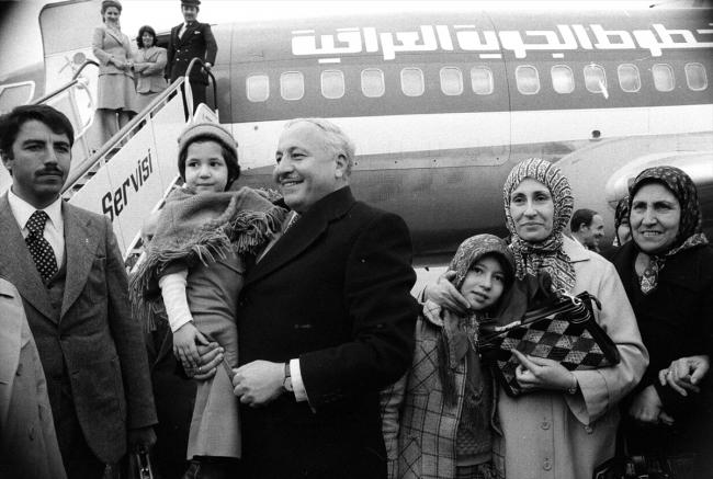 [Hac vazifesi sonucu yurda dönüş, 28 Kasım 1977 - Fotoğraf: AA]