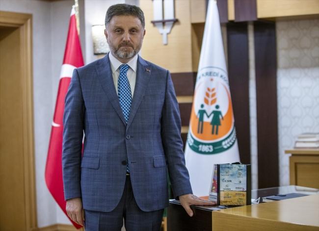 Tarım Kredi Genel Müdürü Fahrettin Poyraz - Fotoğraf: AA