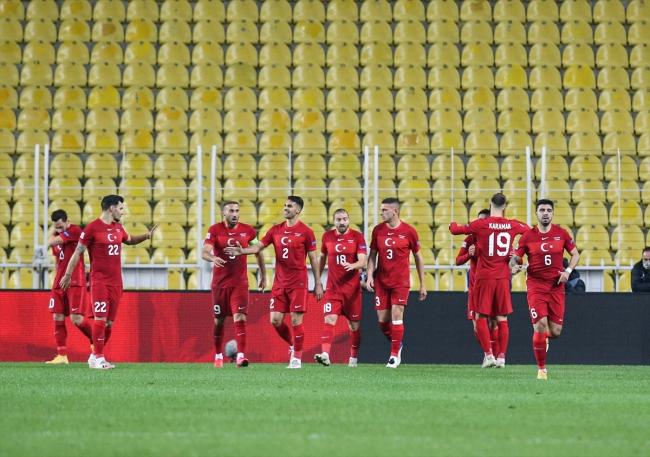 Türkiye Rusya'yı 3 golle geçti