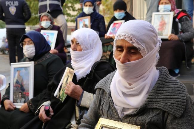 Anne Sultan Öz de oğlu Hasan için eyleme katıldı.